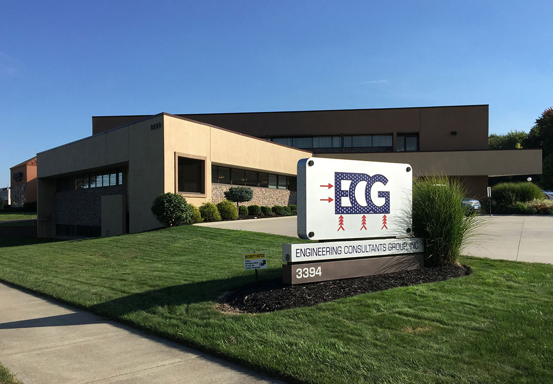 ECG world headquarters in Fairlawn, Ohio